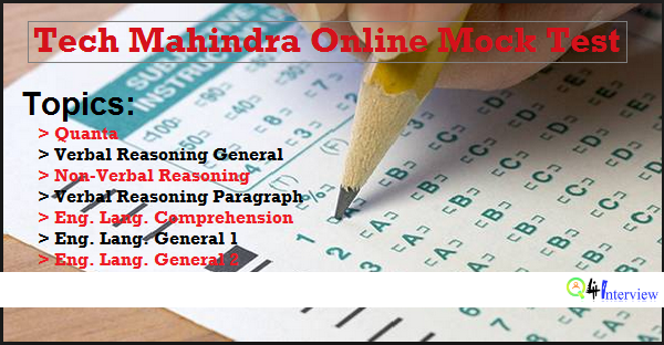 Online paper writing services test for tech mahindra