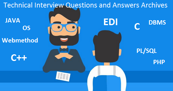 technical interview questions and answers for freshers pdf