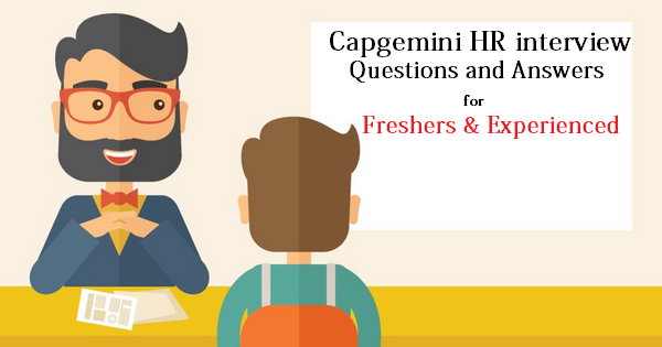 capgemini interview Capgemini either send their employees to work from the client location else the client team may be located in capgemini office itself it is the formal interview.