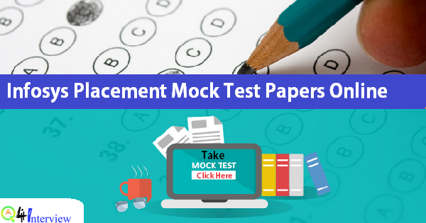 Infosys Placement Mock Test Papers | Online Practice Test