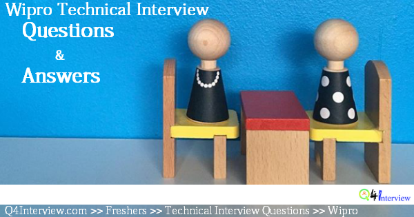 Virtusa Interview Questions and Answers Archives - Q4Interveiw com